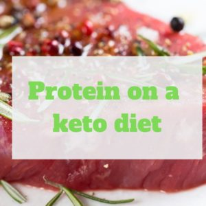 Protein intake on a keto diet
