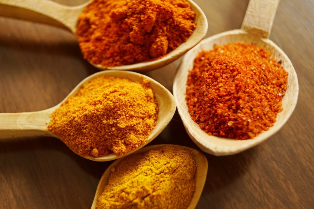 Spices and herbs on keto