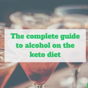 guide to alcohol on keto