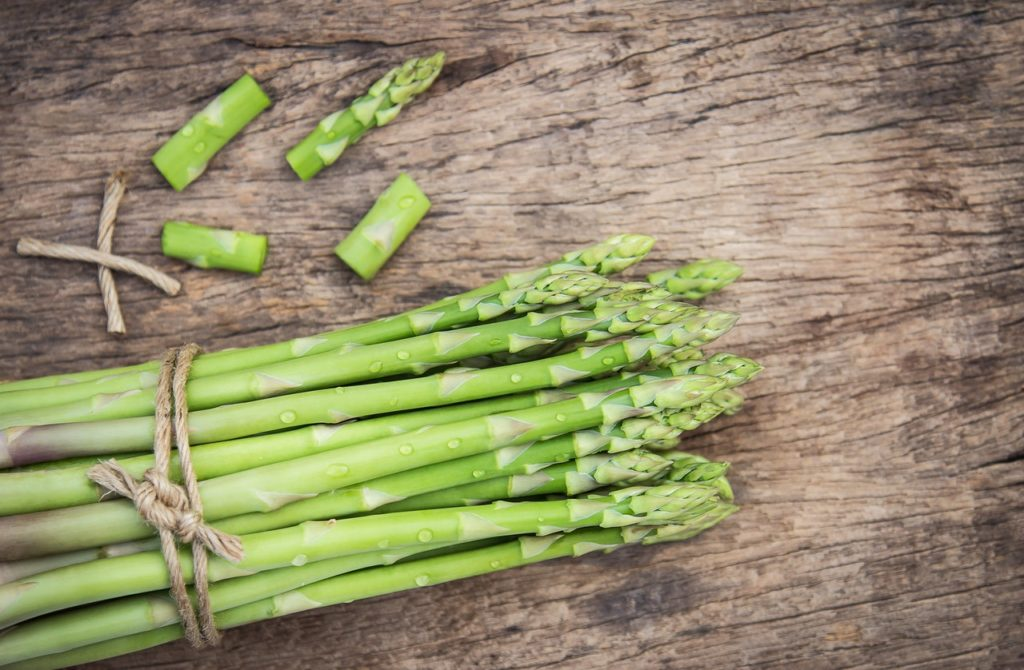 Asparagus keto vegetable