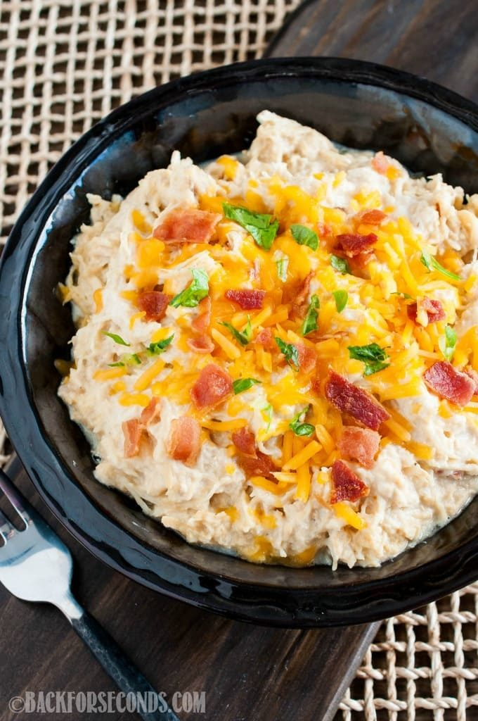 Cheesy bacon ranch chicken
