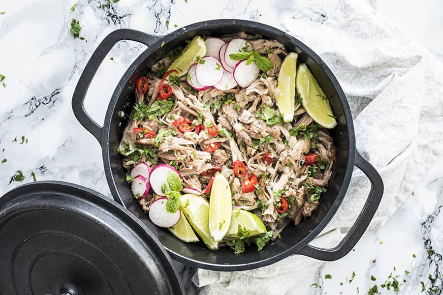 Keto slow cooker carnitas