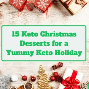 15 keto christmas dessert recipes