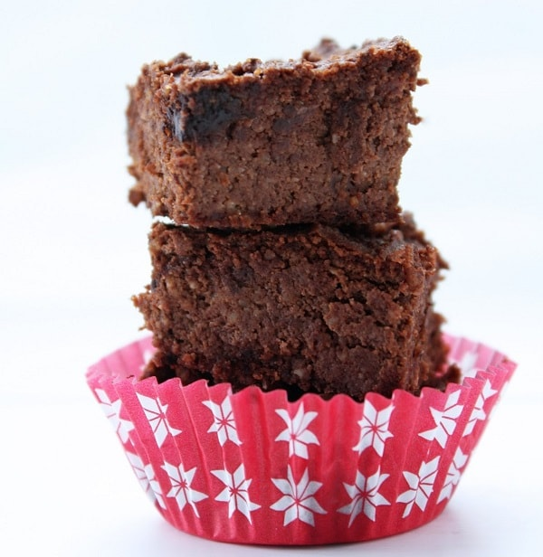 Keto cauli brownie