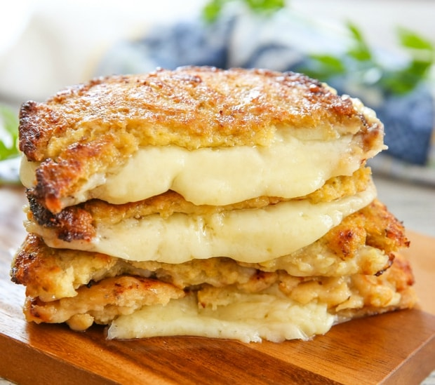 Cauli grilled cheese sandwich