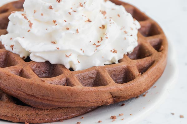 Low Carb Chocolate Chaffle