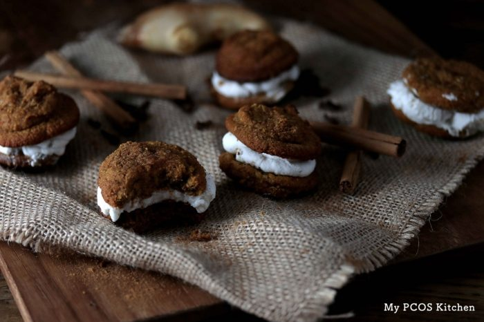 Low Carb Pumpkin Whoopie Pies