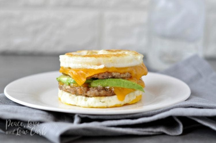 McMuffin Sausage and Egg Breakfast Sandwich