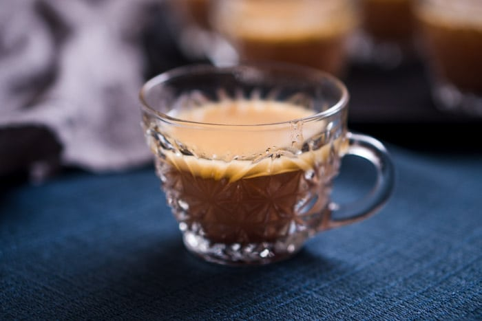 Hot Buttered Rum keto cocktail