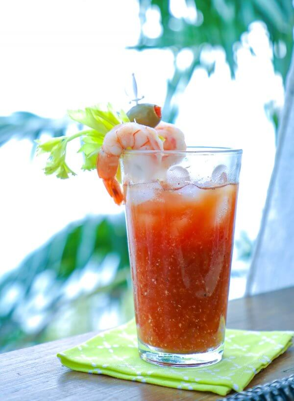 Keto Bloody Mary Cocktail