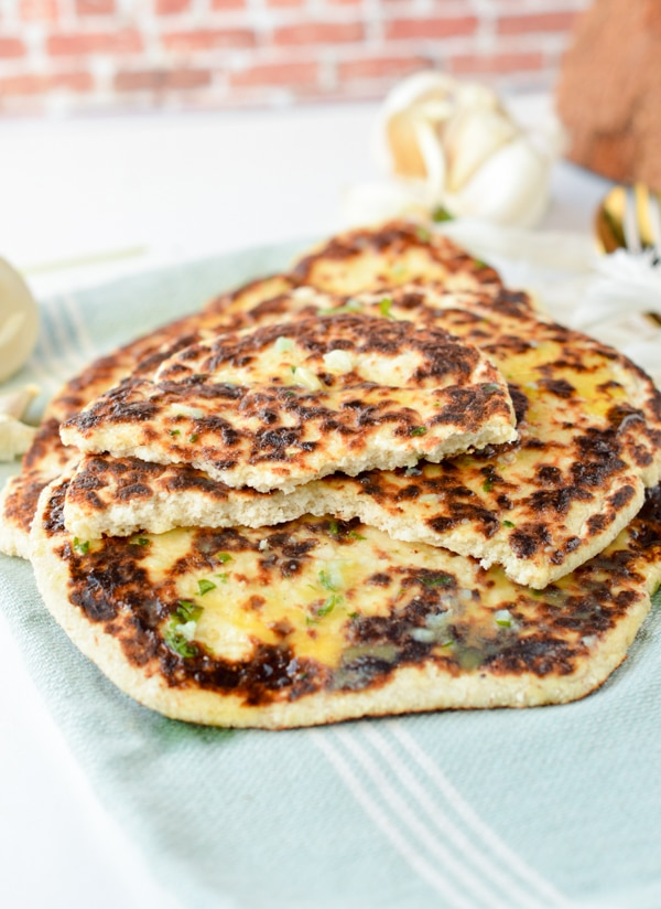 Low Carb naan bread