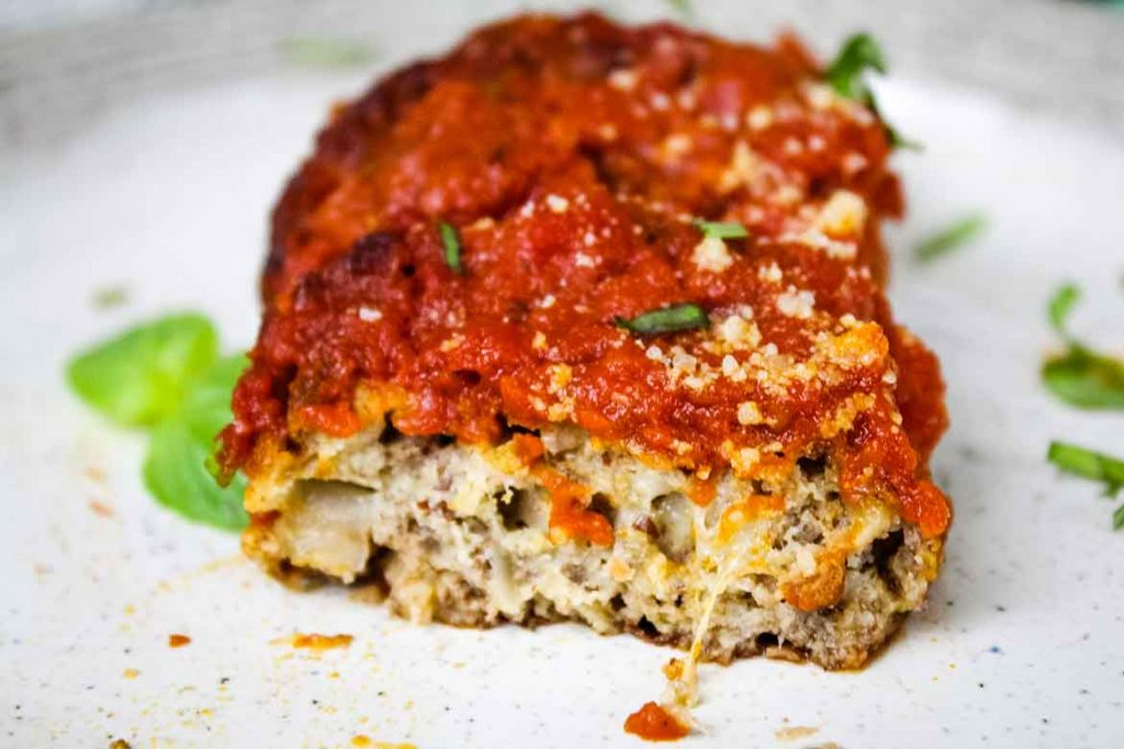 Vegetarian Patties with Marinara Sauce