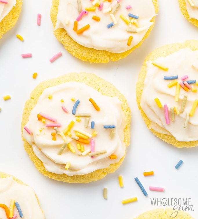 Coconut Flour Sugar Cookies