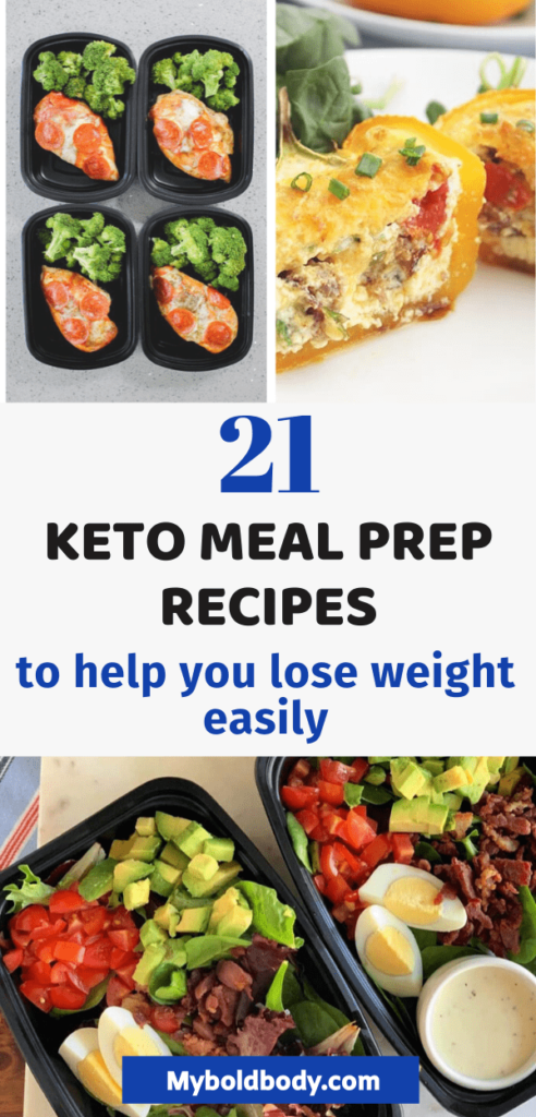 Ready to burn fat easily? Here are 21 easy and yummy keto meal prep recipes that will help you save time and lose weight easily on a low carb ketogenic diet. These low carb meal prep recipes are perfect for breakfast, lunch or even dinner. #ketorecipes #lowcarb #ketogenic #mealprep # keto meal plan #ketolunch
