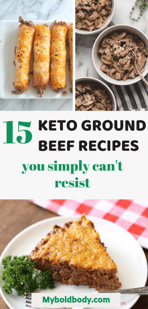 Here are 15 easy and delicious low carb keto ground beef recipes that are just too good to resist. Your favorite meatloaf, meatballs, beef casserole and more to make your keto dinner a blast. Enjoy #ketodiet #ketogroundbeef #ketogenic #ketodinner #lowcarb #ketorecipe