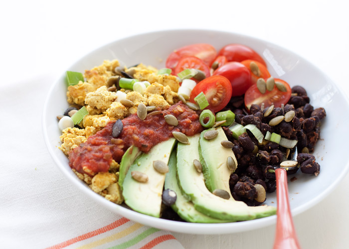 Plant Protein Power Breakfast Bowls