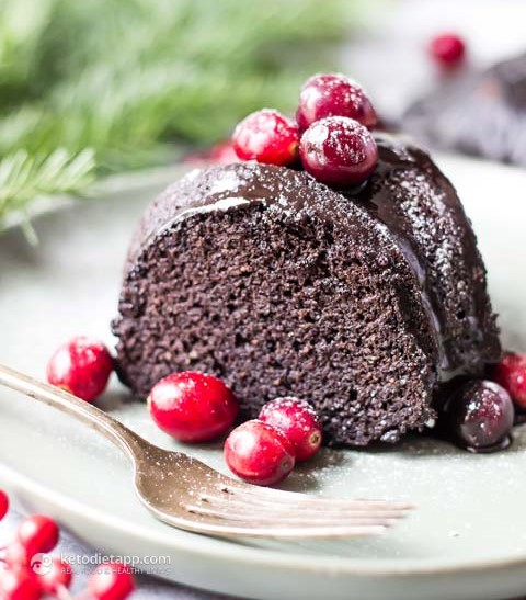 Keto Chocolate Bundt Cake