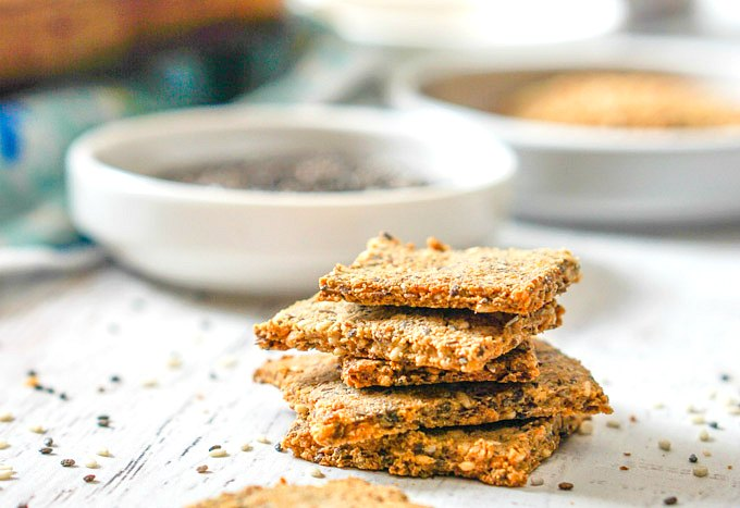 Easy Low Carb Crackers