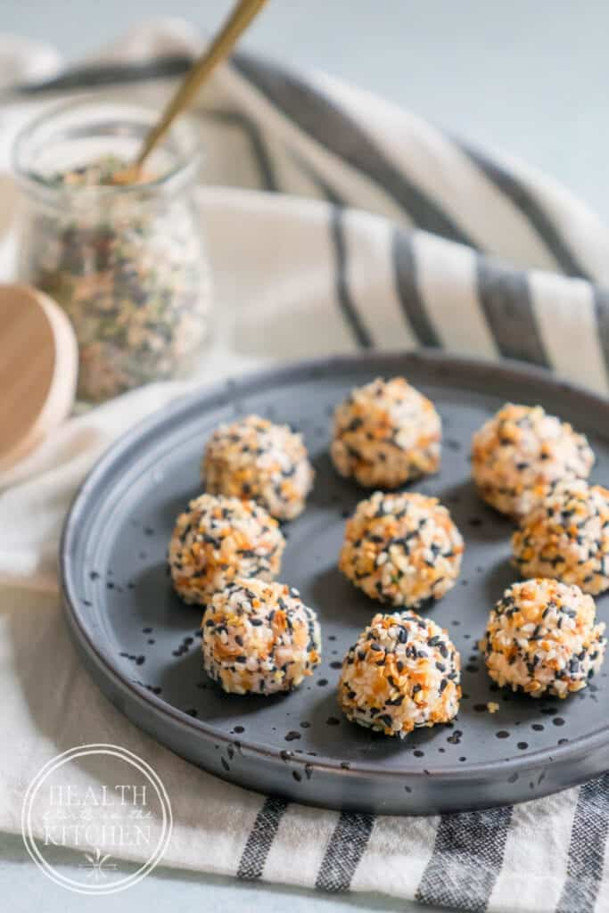 Everything Bagel and Lox Keto Fat Bombs