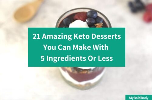 21 Amazing Keto Desserts To Make With 5 Ingredients Or Less