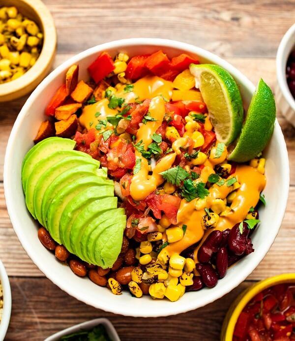 High-Protein Vegan Fiesta Salad