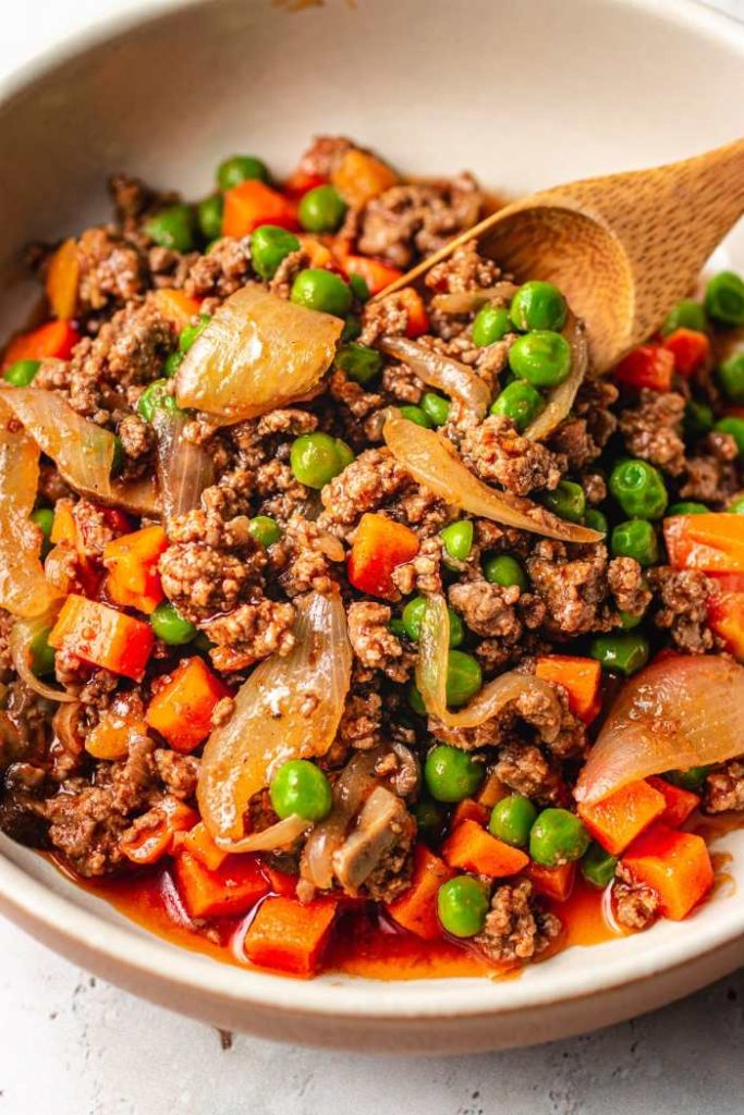 Keto Ground Beef With Worcestershire Sauce