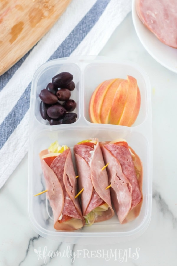Low Carb Sandwich Lunchbox