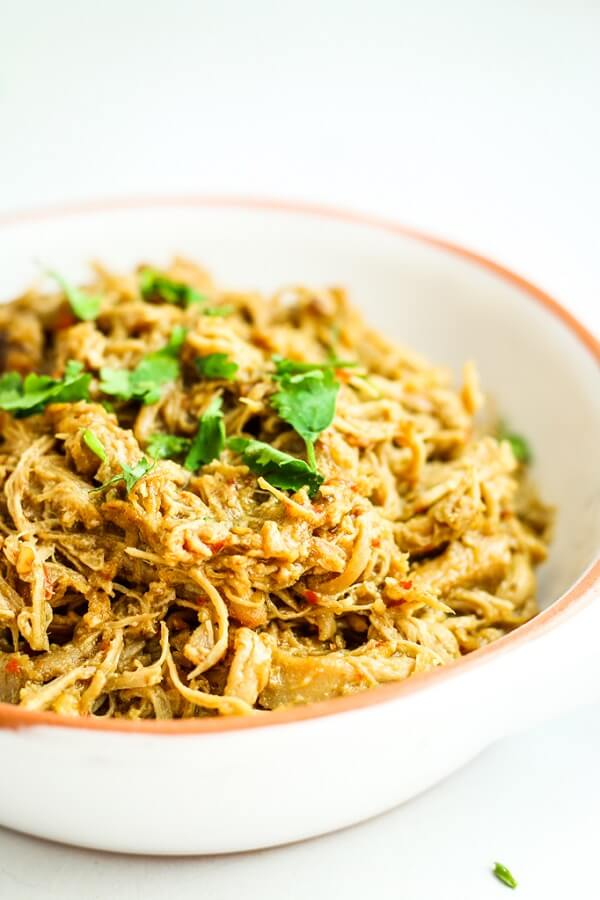 Easy Crockpot Thai Chicken