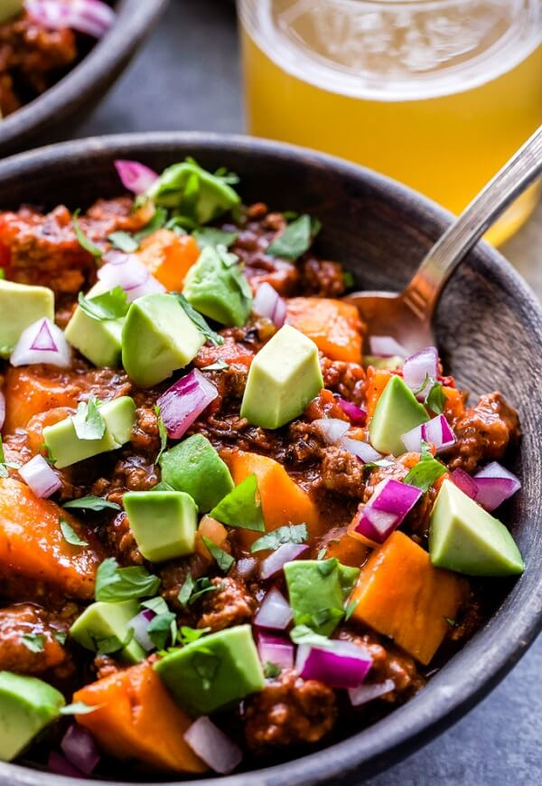 Bison Sweet Potato Chili