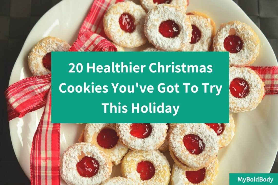 20 Healthier Christmas Cookies You've Got To Try This Holiday