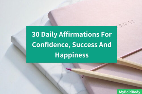 30 Positive Daily Affirmations For Confidence, Success And Happiness