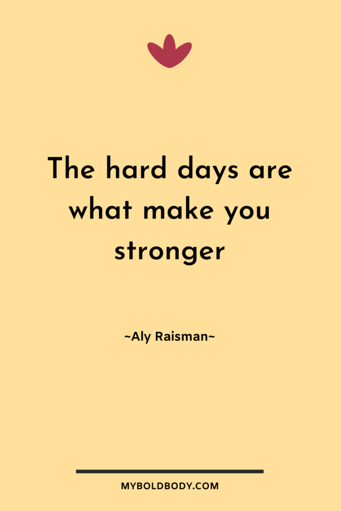 Weight Loss Motivation #15 - The hard days are what make you stronger - Aly Raisman