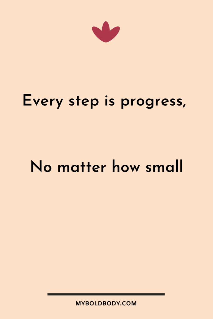 Weight Loss Motivation #5 - Every step is progress, no matter how small