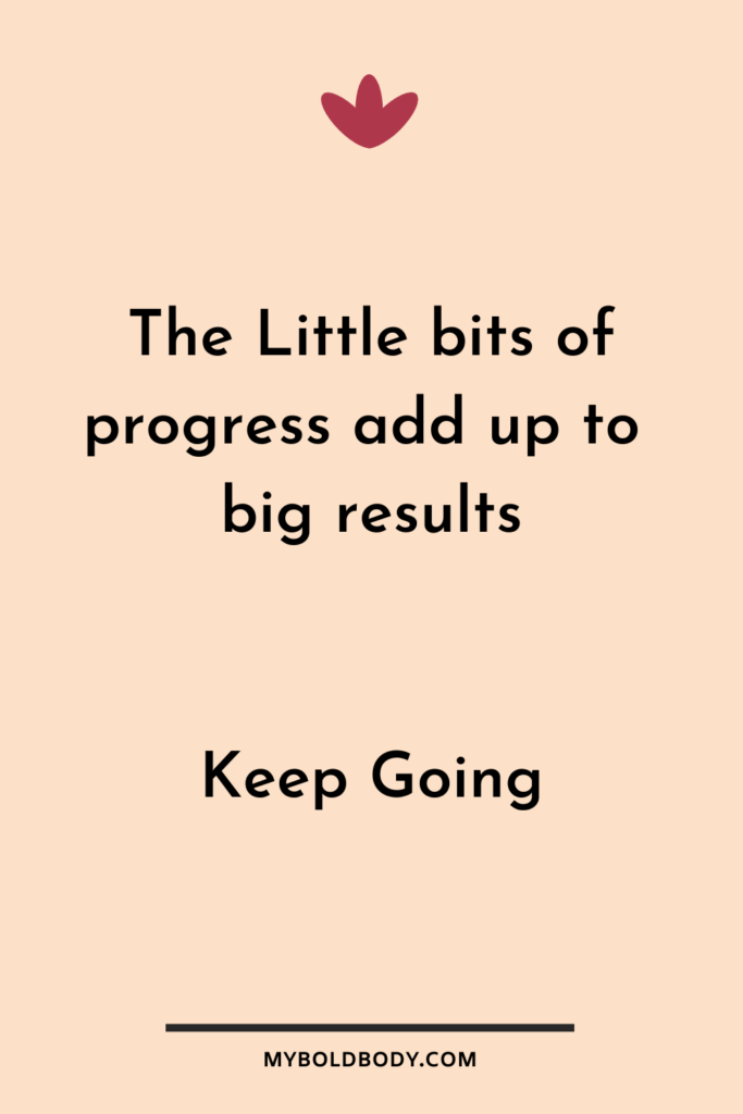 Weight Loss Motivation #11 - Little bits of progress add up to big results