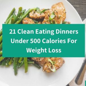 21 Clean Eating Dinners Under 500 Calories For Weight Loss