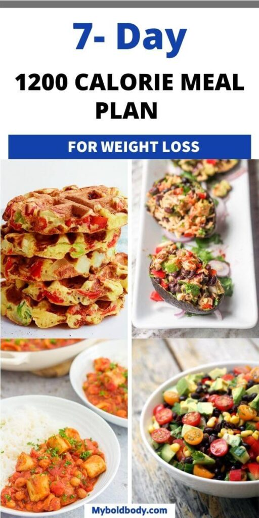 Here's a simple and easy 7-day 1200 calorie meal plan to help you lose weight quickly and easily. These healthy low calorie meals are great for weight loss and are sure to leave you full and satisfied. #mealplan #1200calorie #weightloss #loseweight