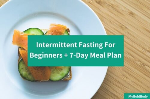 7 day Intermittent Fasting Meal plan for weight loss