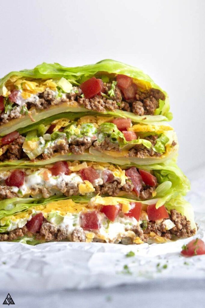 Low Carb Crunchwrap Supreme