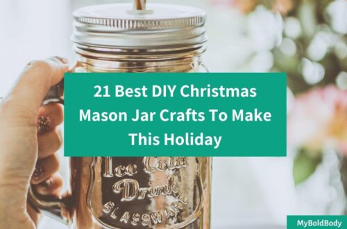 21 Best DIY Christmas Mason Jar Crafts To Make This Holiday