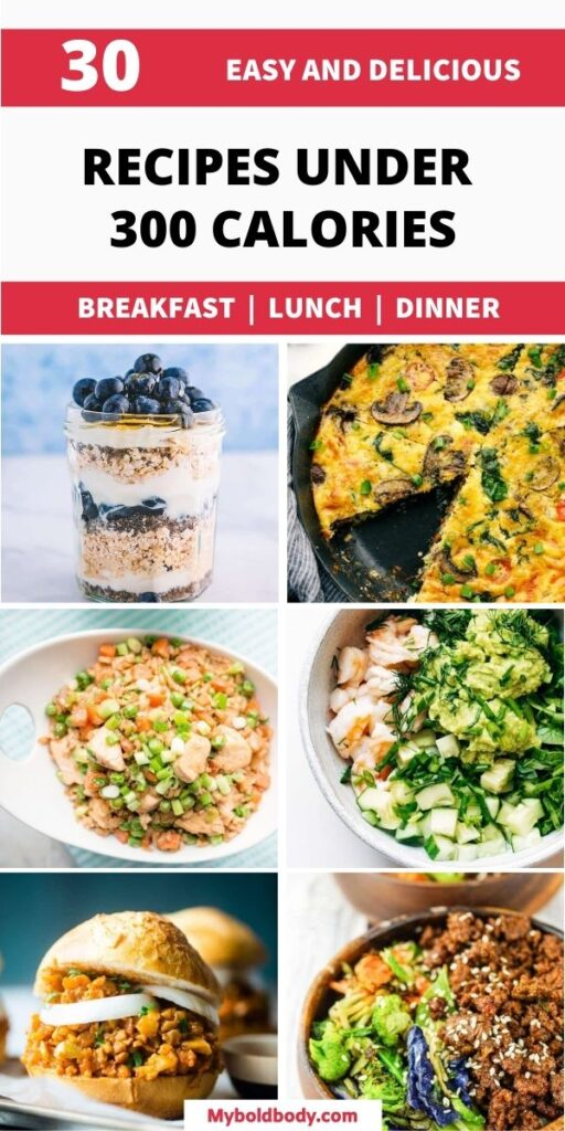 Ready to burn fat easily? Here are 30 easy, yummy and healthy recipes under 300 calories for weight loss. From breakfasts to lunch to dinner under 300 calories, These skinny low calorie meals will satisfy your cravings, and fill you up easily. #healthyrecipes #healthyeating #healthybreakfast #healthylunch #healthydinner