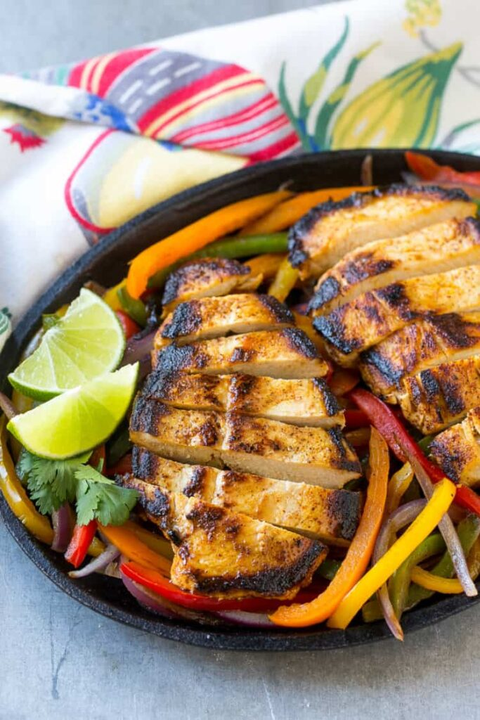 Chicken Fajitas Recipe and Marinade