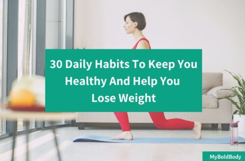 30 healthy daily habits for weight loss