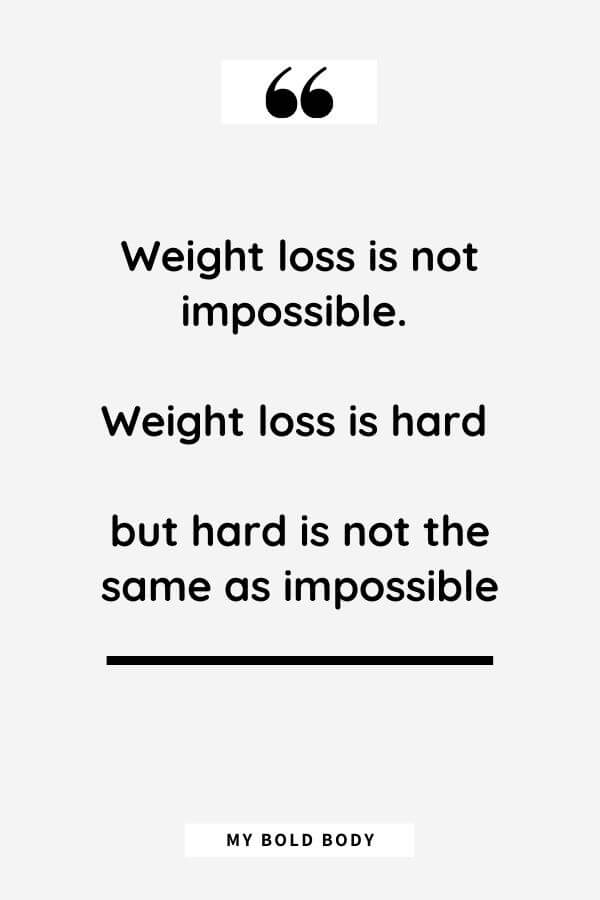 Weight loss motivational Quotes (35)