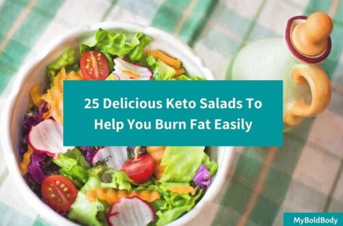 25 Delicious Keto Salads To Help You Burn Fat Easily