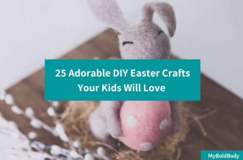 25 Adorable DIY Easter Crafts Your Kids Will Totally Love