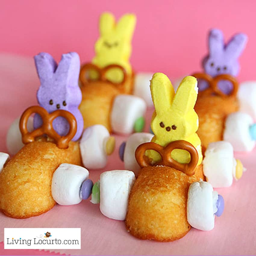 Easter Bunny Race Car Treats