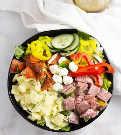 Keto Friendly Packed Protein Salad