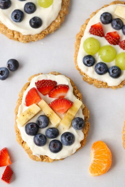 Easter Egg Fruit Tarts