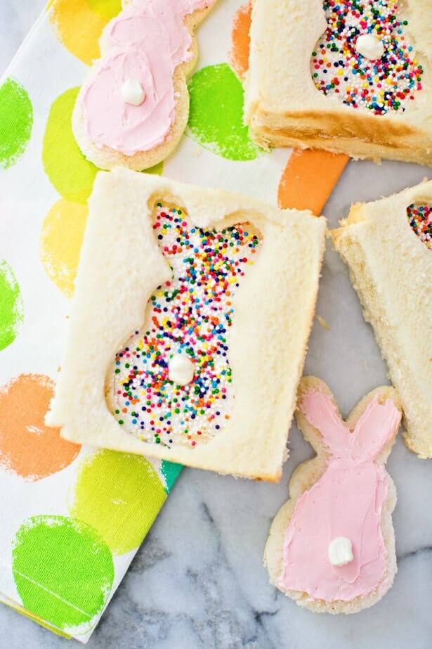 Bunny Fairy Bread