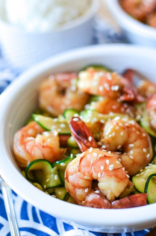 5-Ingredient Honey Garlic Shrimp